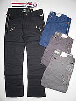 Котоновые брюки для мальчиков Mr.David оптом ,134-164 рр.