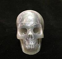 Череп каменный из флюорита