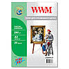 Холст WWM натуральный хлопковый, 260г/м кв, A3, 20л (CC260A3.20)
