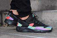 Кроссовки Nike Huarache Multicolor  по лучшей цене / найк / Red-Black /  Nike Air Huarache Black-W.