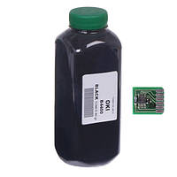 Тонер+чип АНК для OKI 4400 ( тонер АНК, чип АНК) бутль 80г Black (1400560)