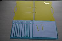 Тетрадь Виртус Студент-1К  Тетрадь 25 листов стандарта А4 с возможностью вставки и изъятия листов перфорированных дыроколом (Virtus Студент-1К x