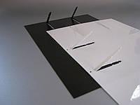 Папка-тетрадь Virtus-Duos Папка-тетрадь Нижняя обложка с устройством  переплета бумаг на 2 кольца книжного или альбомного формата стопой до 100 листов
