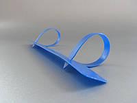 Пластиковая планка Virtus-ЕКСПРЕСС 100  Пластиковая планка для переплета  листов  или файлов на 2 кольца 4 кольца стопкой до 100 листов