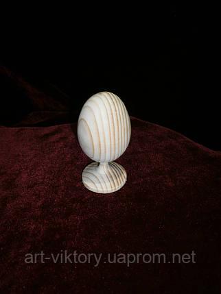 Деревянное яйцо на ножке под роспись, фото 2
