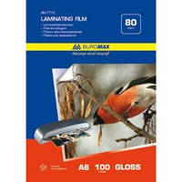 Пленка для ламинирования Пленка для ламинирования 80мкм, A6 Buromax (111-154мм), 100 шт. BM.7773 (BM.7773(80мкм) x 29485)