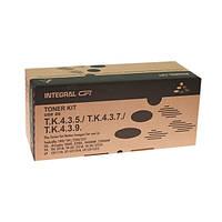 Туба с тонером Integral для Kyocera Mita Taskalfa 180/181/220/221 аналог TK-435 Black 800г (12100040)