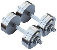 Гантели разборные металические 2 х 42 кг
