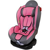 Автокресло Baby Shield Smart Sport II темно-серый/розовый (с поддоном)