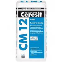 Клеящая смесь для керамогранита Gres CM-12