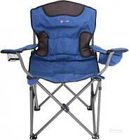 Портативное раскладное кресло SD-150, 60х59х105 см, 6,6 кг, синий, чехол