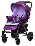 Коляска прогулочная Bair Fox purple светлосиреневый-темносиреневый, фото 2