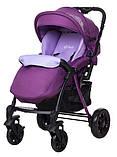 Коляска прогулочная Bair Fox purple светлосиреневый-темносиреневый, фото 3
