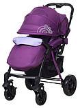 Коляска прогулочная Bair Fox purple светлосиреневый-темносиреневый, фото 5