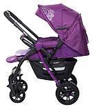 Коляска прогулочная Bair Fox purple светлосиреневый-темносиреневый, фото 8