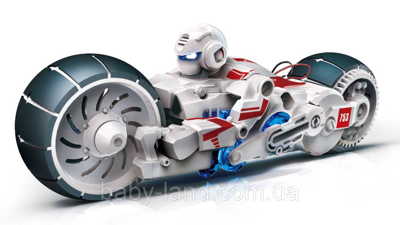 Конструктор Робот-мотоцикл на энергии соленой воды CIC 21-753
