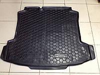 Коврик багажника резиновый для Volkswagen Polo 2011- седан Avto-gumm