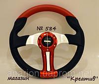Руль спортивный Momo №584 (красный)