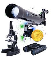 Телеско+ мікроскоп+ бінокуль  набір Opticon