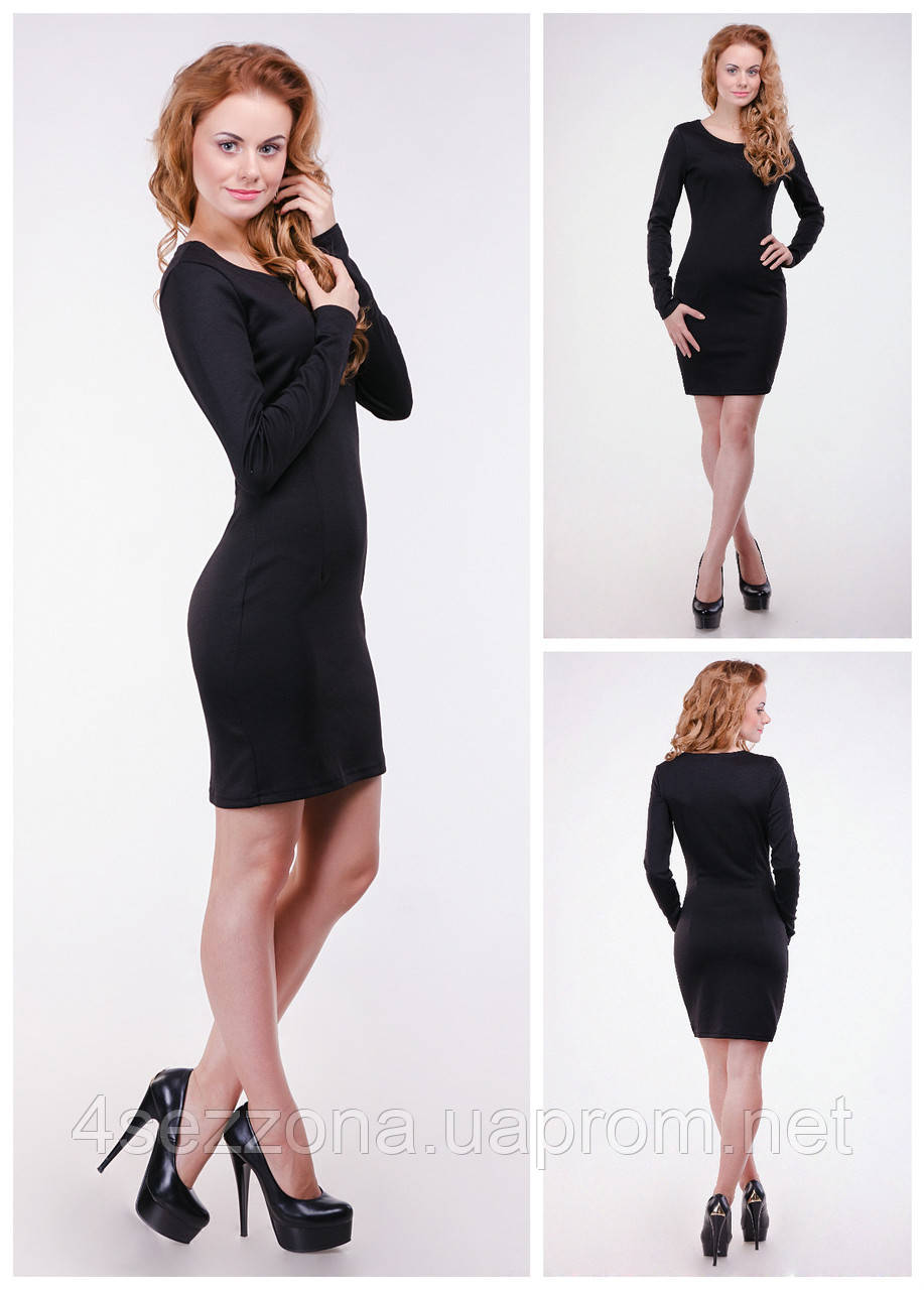 8186fd40a99 Классическое платье - карандаш из французского трикотажа   продажа ...