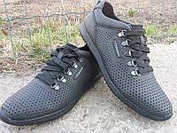Обувь кожаная летняя для мужчин