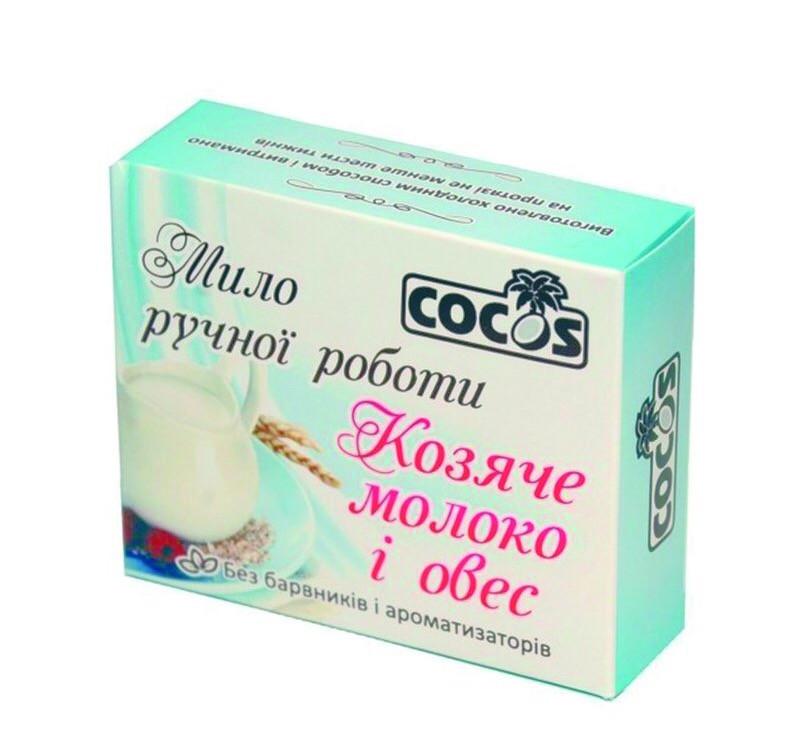 """Мыло ручной работы """"Козье молоко и овес"""", 4шт х 100 мл"""