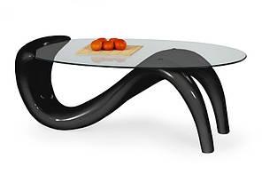 Журнальный столик Cortina127*65 (2 цвета: белый,черный)(Halmar), фото 2