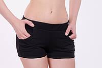 Женские спортивные шорты из плотного трикотажа двунитка  XS