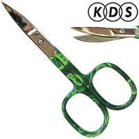 KDS Ножницы 01-3252 ногтевые загнутые Color Mix 22мм, фото 2