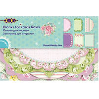 Заготовка для открыток Заготовка для открыток Zibi Roses 10.2-15.3 см ZB.18202-AF (ZB.18202-AF x 29236)