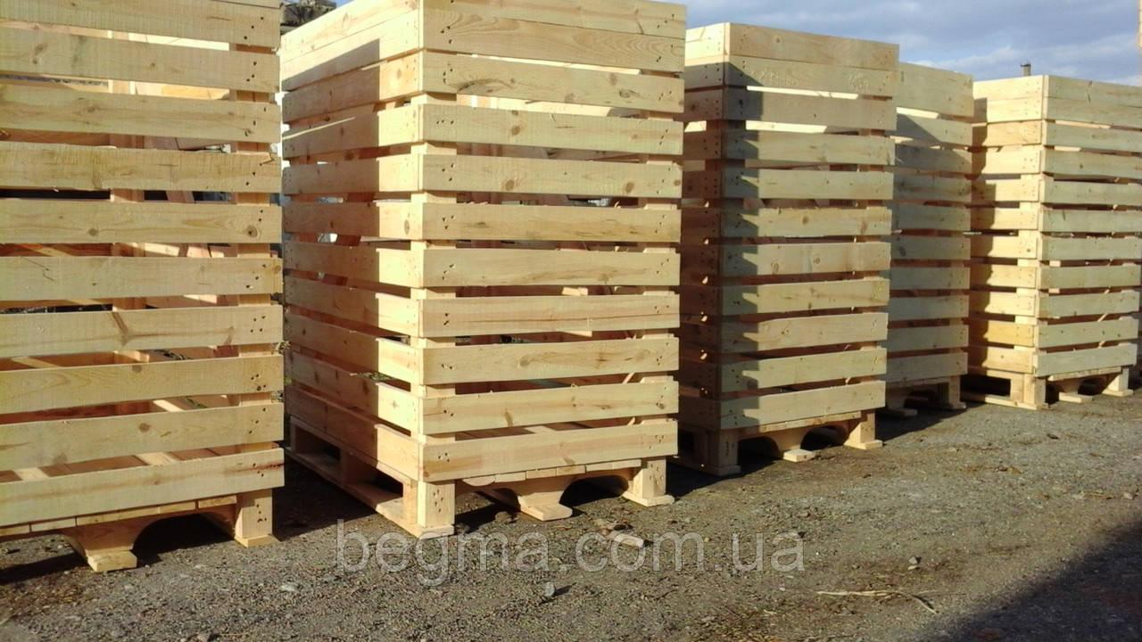 Контейнер деревянный 1200×800×1450мм
