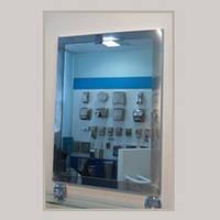 Зеркало со стальной рамкой  S-503C