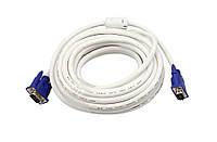 Видео кабель VGA-VGA (П/П) 2 ферит. 5 м *2262