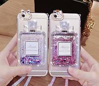 "Samsung Galaxy S4 i9500 чехол накладка бампер противоударный со стразами камнями TPU  для телефона "" MISS DIOR"