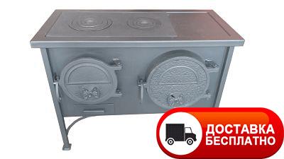 Печь-плита ЭКТОР с духовкой отопительно-варочная МЧП ВИТ