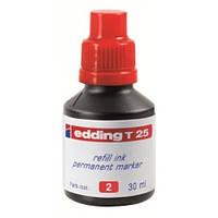 Чернила для маркеров Чернила для заправки перманентных маркеров Edding  E-T25 (E-Т25/001(черный) x 128257)