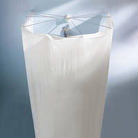 Шторка с карнизом для ванной виниловая Spirella OMBRELLA, 200х170