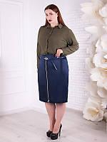 Классическая женская юбка №1880
