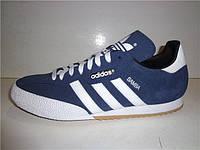 Кроссовки adidas синие SAMBA SUPER, фото 1