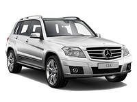 Поперечки на рейлинги Mercedes Benz GLK Class X204 (2008-2015)
