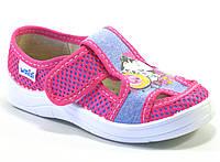 Детские тапочки Waldi Маша розовые котик (Размеры: 24-30)