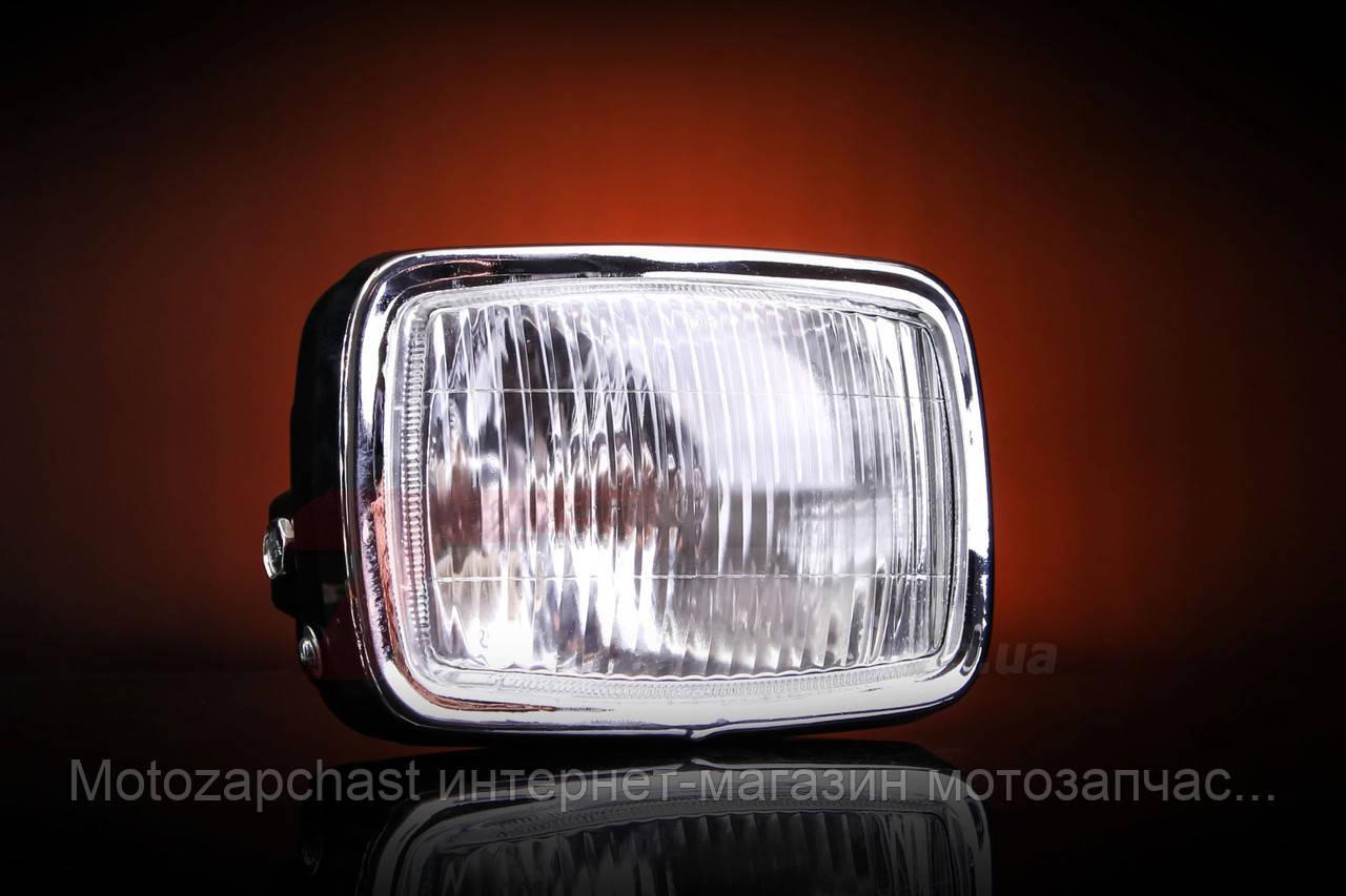 Фара прямоугольная Дельта с подсветкой TRW
