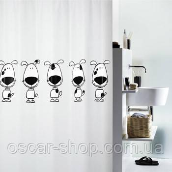 Шторка для ванной виниловая Spirella BEAGLE, 180х200