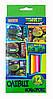 Олівці 12 кольорів Ninja Turtles 1 Вересня 290326