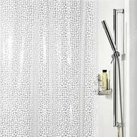 Шторка для ванной виниловая Spirella GALET, 180х200