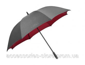 Зонт трость Land Rover Golf Umbrella, Black And Red