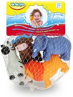 Животные-пищалки для ванной BeBeLino Зоопарк (58004)