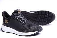 Кроссовки кожаные Adidas Trainers Black сетка