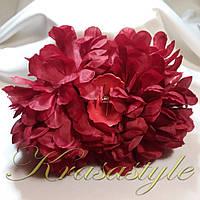 Краб для волос с хризантемой, фото 1