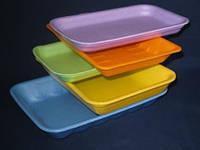 Упаковка пищевая размером 178х133 мм из вспененного полистирола, лотк для упаковки пищевых продуктов